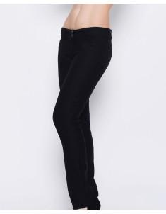 Брюки модель №10 (косые карманы) черные. Размеры 42-50