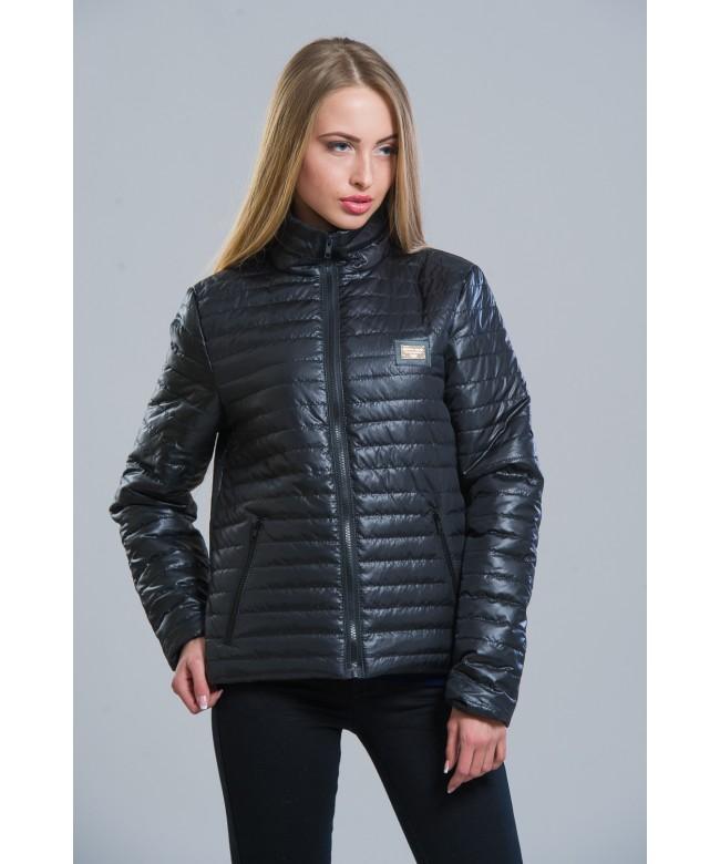 Куртка женская модель №5 G черная. Размер 42-48. Куртки демисезонные ... 60857996d3c