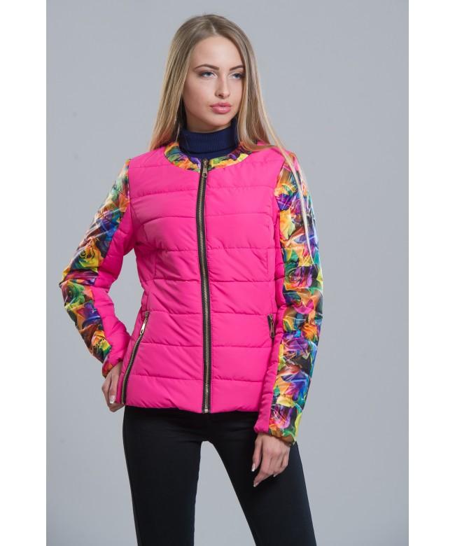 Купить Розовую Куртку Женскую