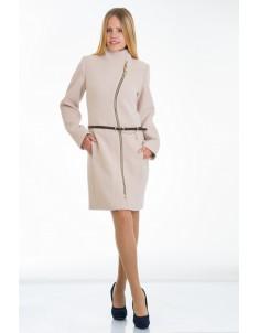Пальто модель №4 волна бежевое. Размер 40-50