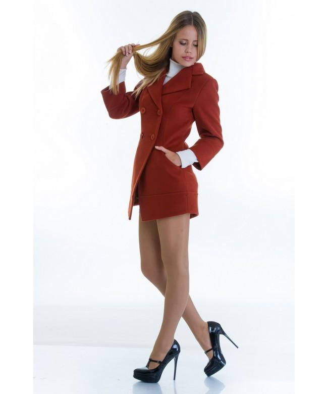 Рыжее пальто
