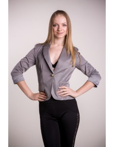 Пиджак модель №7 серый. Размер 42-50