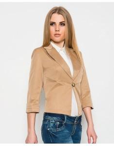 Пиджак модель №9 бежевый. Размер 42-50