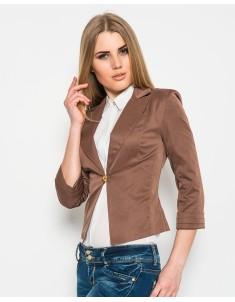 Пиджак модель №9 шоколадный. Размер 42-50