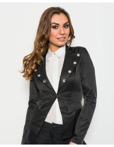 Пиджак модель №19 крючок черный. Размер 42-48