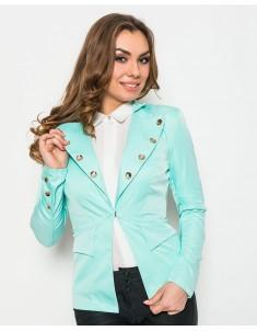 Пиджак модель №19 крючок мята. Размер 42-44