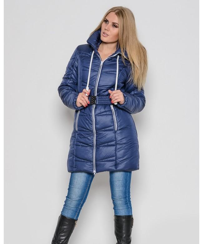Стильная молодежная зимняя куртка с универсальным наполнителем синтепоном. . Ткань верха - плащевка