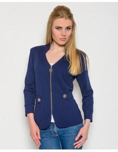 Пиджак модель №26 (змейка) синий. Размер 42-50