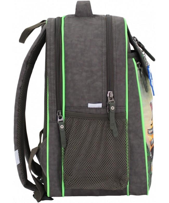 b62a84eaaee2 Купить школьный рюкзак Отличник хаки машиной. Продажа школьных ...