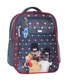 Рюкзак школьный Отличник 1-3 класс серый 188к