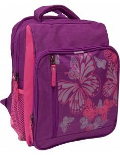 Рюкзак школьный модель Школьник 8 л фиолетовый розовый