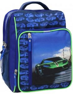 Рюкзак школьный модель Школьник 225 синий 432