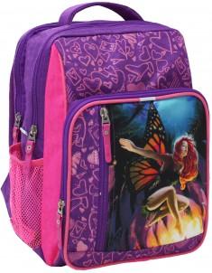Рюкзак школьный модель Школьник фиолетовый 27д