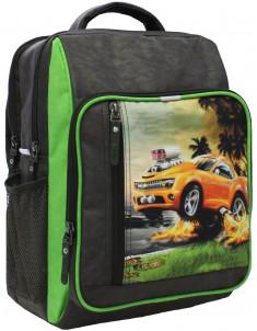 Рюкзак школьный модель Школьник 327 хаки 4м