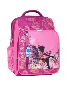 Рюкзак школьный модель Школьник 143 малина 389
