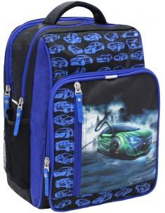 Рюкзак школьный модель Школьник черный 3м