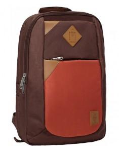 Рюкзак городской Baretti 14 л (коричневый, черный)