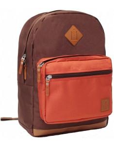 Рюкзак городской Zanetti 16 л (коричневый, черный)