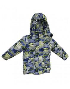 Куртка Европейка демисезонная Зеленые стрелки для мальчика