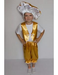 Костюм карнавальный детский гриб Лисичка мальчик