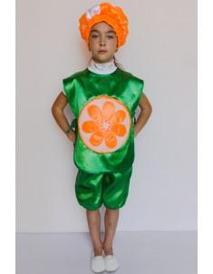 Костюм карнавальный детский Апельсин №1