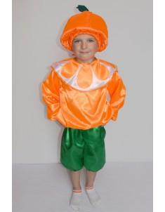 Костюм карнавальный детский Апельсин №2