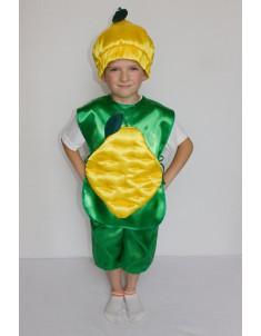 Костюм карнавальный детский Лимон №1