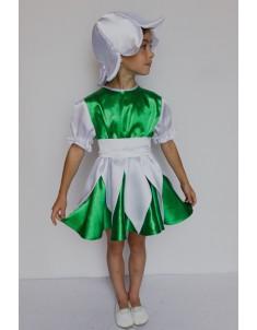 Костюм карнавальный детский Подснежник для девочки