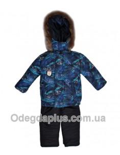 Зимний костюм Автоспорт синий