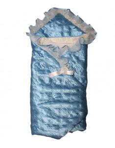 Коверт-одеяло на выписку Атлас облегченный