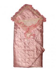 Коверт-одеяло на выписку Атлас плотный вариант