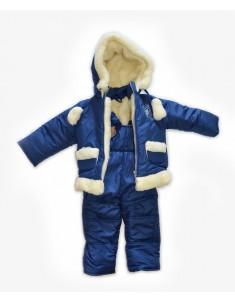"""Зимний костюм """"Опушка"""" синий"""