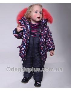Зимний костюм Ромашки для девочки. Возраст: 1; 2; 3; 4 года.