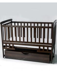 Кроватка детская трансформер Лодочка с ящиком