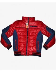Куртка демисезонная красная с синим