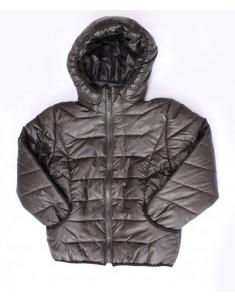 Куртка демисезонная утепленная черная на мальчика. Размер: 32-38
