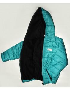 Куртка демисезонная Спорт флис бирюза