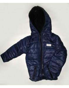 Куртка демисезонная Спорт флис синяя