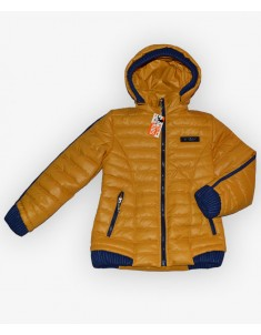 Куртка демисезонная на девочку цвет темно-желтый. Размеры 30-40