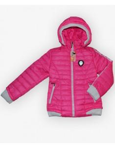 Куртка демисезонная на девочку цвет розовый. Размеры 30-40