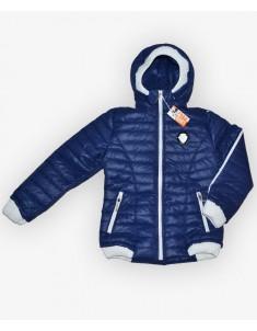 Куртка демисезонная на девочку цвет синий. Размеры 30-40