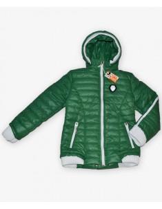 Куртка демисезонная на девочку цвет зеленый. Размеры 30-40