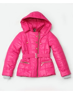 """Куртка демисезонная """"Косуха"""" розовая на девочку. Размер: 34-44"""