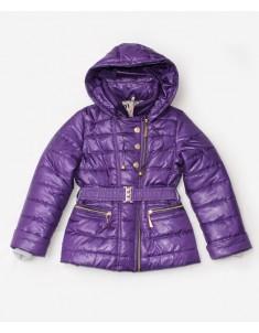 """Куртка демисезонная """"Косуха"""" фиолетовая на девочку. Размер: 34-44"""