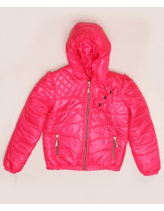 """Куртка демисезонная """"Бант"""" розовая. Размер: 32-38"""