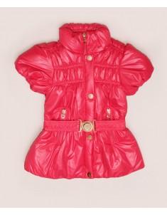 Куртка-жилет демисезонная красная на девочку. Размер: 32-38
