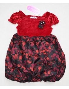 """Платье """"Цветок"""" красное. Рост: 98, 106, 122, 130, 136"""
