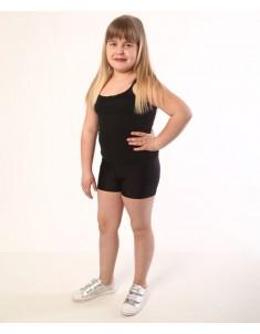 Шорты детские спортивные бифлекс черные