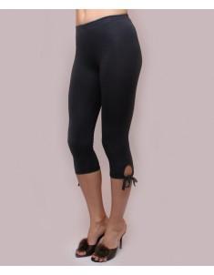 """Летние женские бриджи модель """"Завязки"""" темно-серые. Размеры 44-62"""