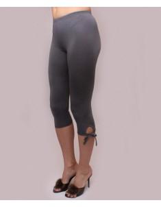 """Бриджи женские модель """"Завязки"""" серые. Размеры 44-62"""